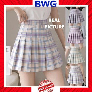 Chân Váy Tennis Ngắn Kẻ Sọc Kiểu Hàn Quốc Xinh Xắn Cho Nữ thumbnail