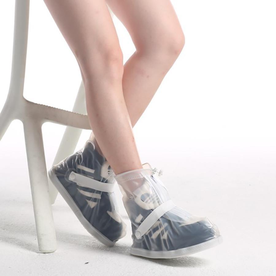 Ủng Đi Mưa-Giày Đi Mưa Với Chất Liệu Nhựa PVC 2 Lớp Cổ Ngắn- Hàng Cao Cấp