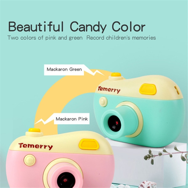 Children 800W Pixel HD Digital Cartoon Camera Portable Toy Gift