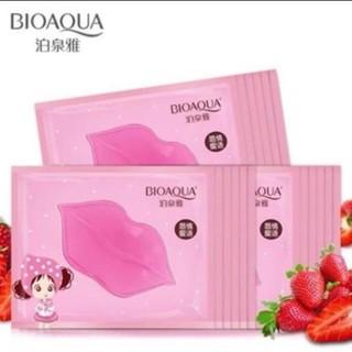 ( sẵn hàng) mặt nạ môi tinh chất dâu bioaqua thumbnail