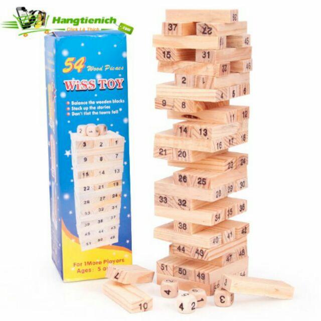 Bô đô chơi rút gỗ loại nhỏ