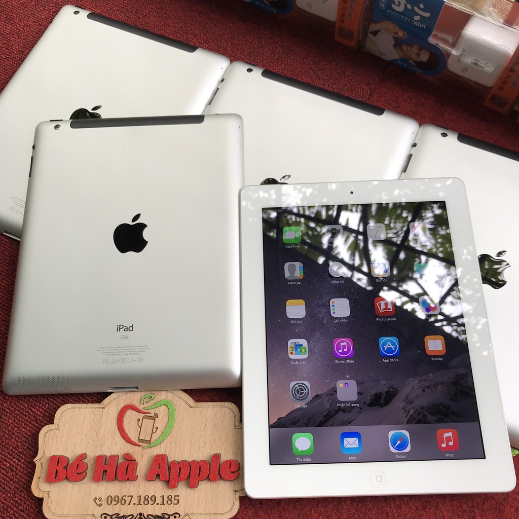 Máy Tính Bảng IPad 3 (Wifi+3G) 16/32/64Gb chính hãng Apple Zin Đẹp 99%