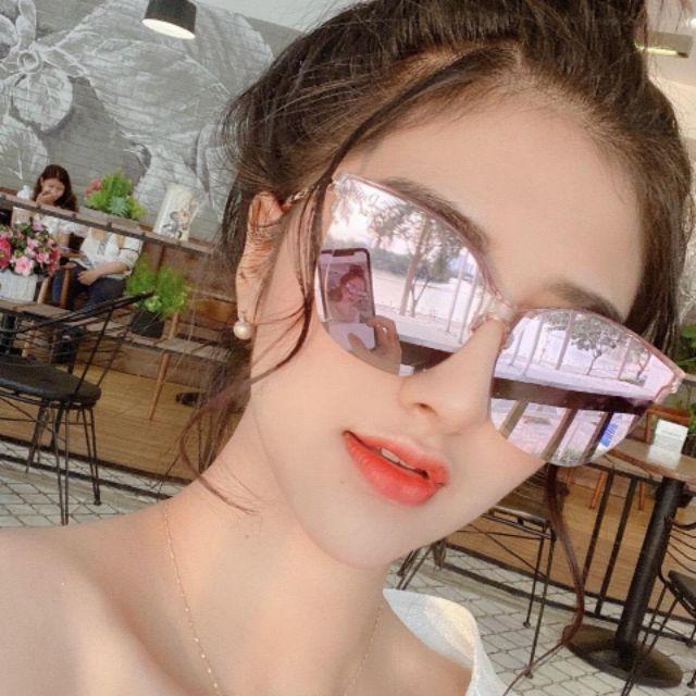 Mắt kính thời trang nữ trang gương trẻ trung năng động _ bảo hành 12thang