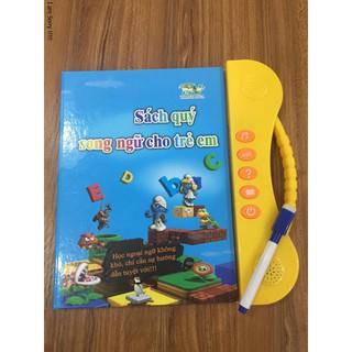 Sách nói điện tử song ngữ – Sách quý song ngữ tiếng Anh + Việt
