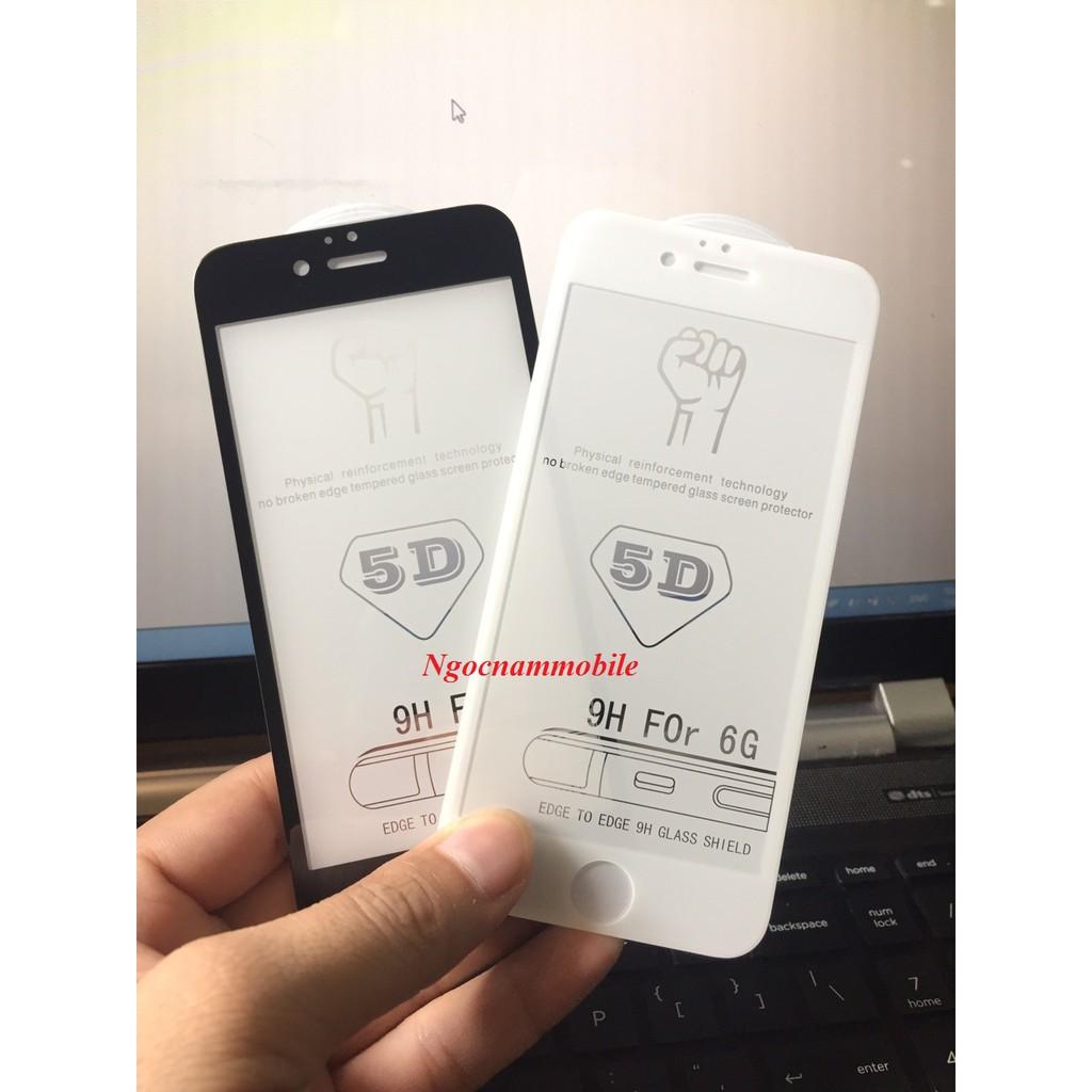 combo 4 kính cường lực 5D full màn cho Iphone.