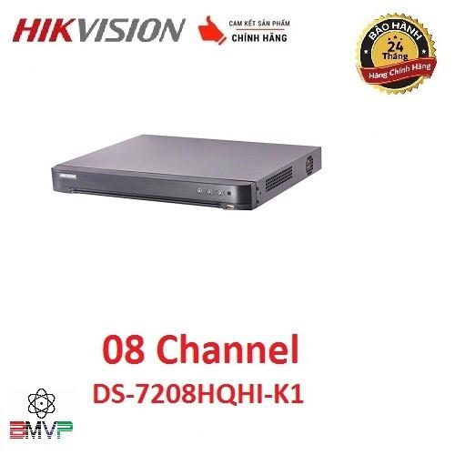 Đầu ghi hình 8 kênh Turbo HD 4.0 Hikvision DS-7208HQHI-K1 - Hàng chính hãng