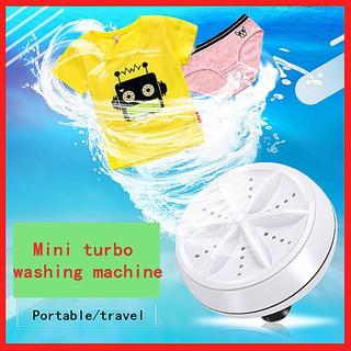 Máy giặt tuabin mini ba trong một Máy giặt gấp quần áo ký túc xá du lịch khử trùng và loại bỏ bụi bẩn Đầu cắm USB Máy giặt siêu âm di động