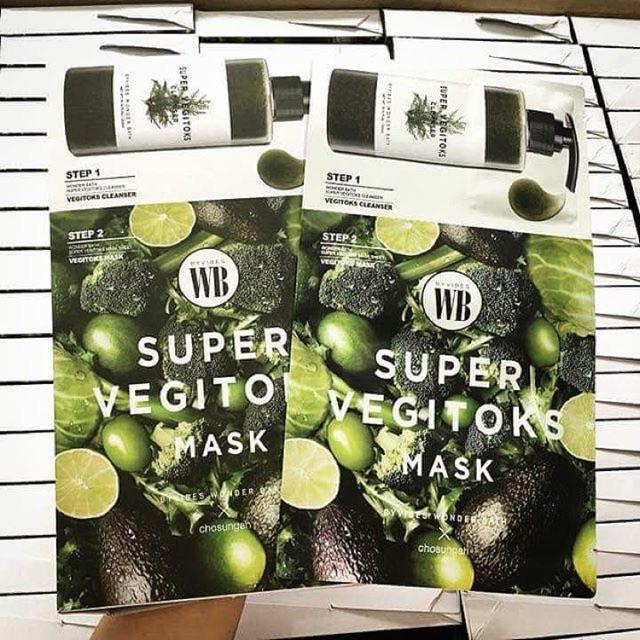 [combo] Mặt Nạ Rau Củ và Sữa rửa mặt Super Vegitoks Mask 2 Step - 15294376 , 1235444682 , 322_1235444682 , 59000 , combo-Mat-Na-Rau-Cu-va-Sua-rua-mat-Super-Vegitoks-Mask-2-Step-322_1235444682 , shopee.vn , [combo] Mặt Nạ Rau Củ và Sữa rửa mặt Super Vegitoks Mask 2 Step