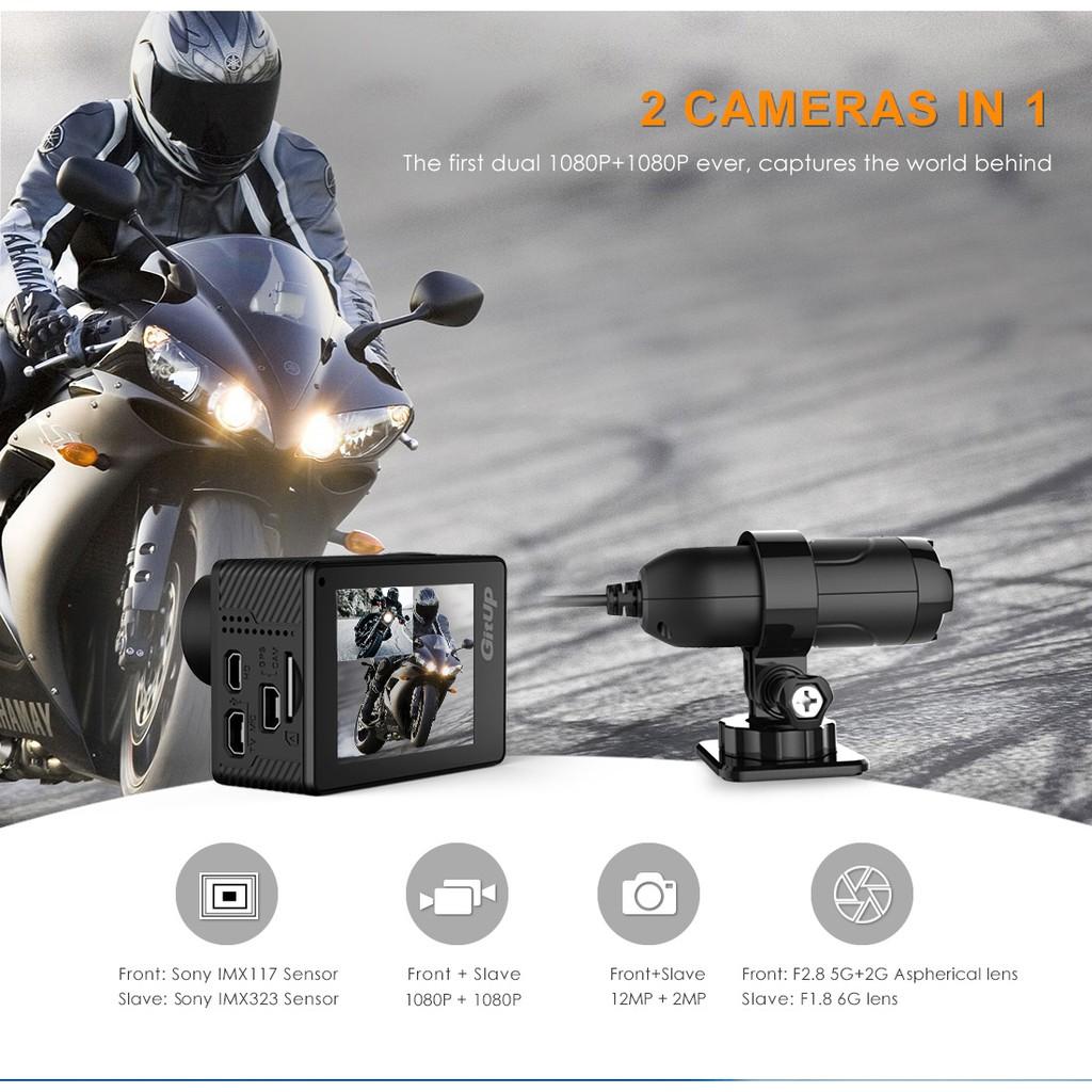 Camera hành trình Gitup G3 Duo Pro Packing (bản 170 độ)
