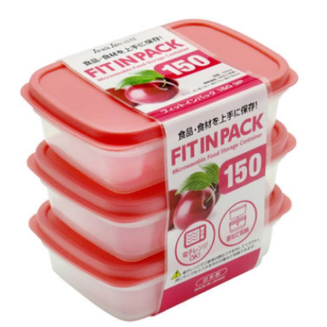 Bộ 3 hộp đựng thực phẩm Sanada - 2486811 , 1246020369 , 322_1246020369 , 70000 , Bo-3-hop-dung-thuc-pham-Sanada-322_1246020369 , shopee.vn , Bộ 3 hộp đựng thực phẩm Sanada
