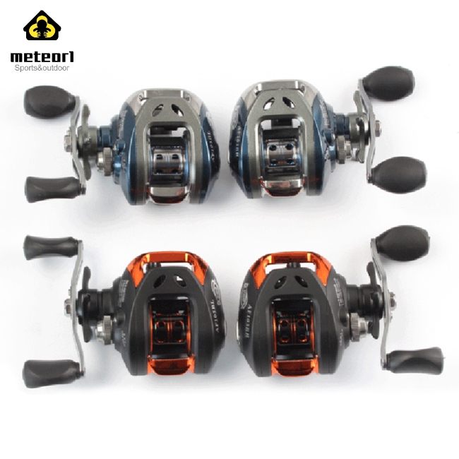 10+1 Ball Bearing Low-Profile Reel 6.3:1 Right/Left Hand Baitcasting Fishing Reel with Magnetic Brake System