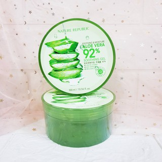 Gel Lô Hội Nature Republic Soothing & Moisture Aloe Vera