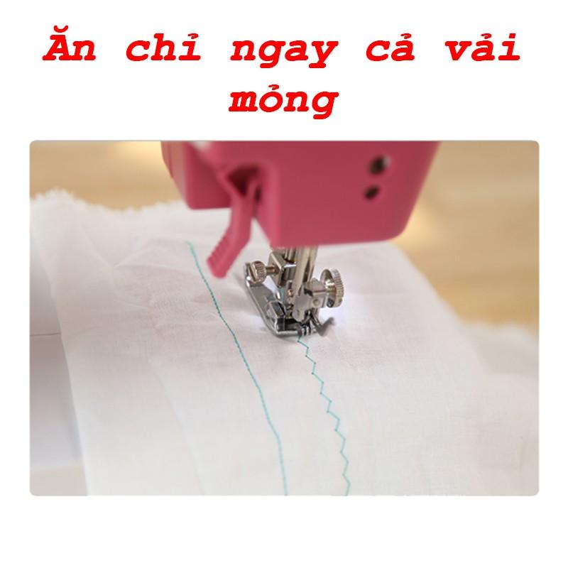 Máy may mini gia đình, máy khâu với 12 kiểu máy khác nhau, phù hợp với mọi loại vải - Bảo hành 12 tháng.