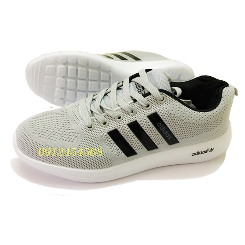 Giày Adidas xám đen nam nữ full size - 3384020 , 837941339 , 322_837941339 , 675000 , Giay-Adidas-xam-den-nam-nu-full-size-322_837941339 , shopee.vn , Giày Adidas xám đen nam nữ full size