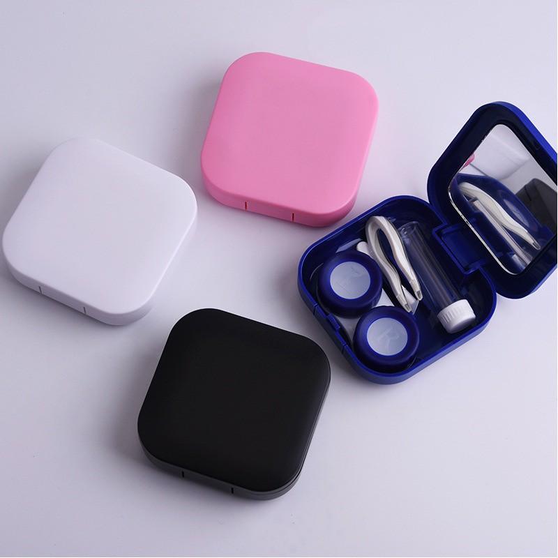 Bộ dụng cụ bảo quản kính áp tròng bằng nhựa