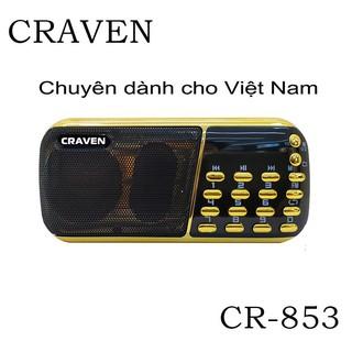 Loa Craven 3 pin 853, loa nghe nhạc, loa tắm ngôn ngữ cho bé, loa học tập tiện ích