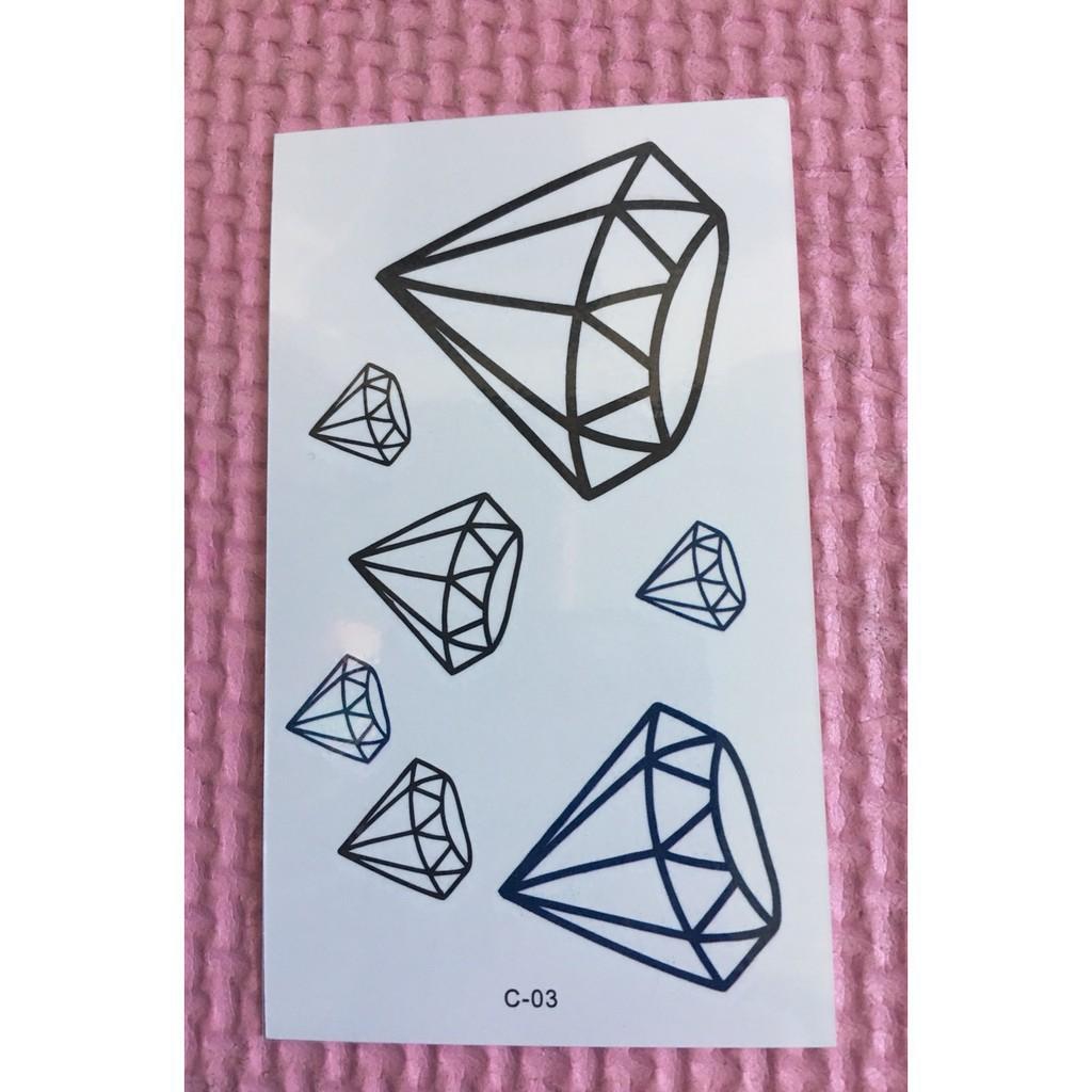 sỉ combo 150 tấm xăm dán tatoo hình ngẫu nhiên 150 mẫu-t37 |buttanghinh