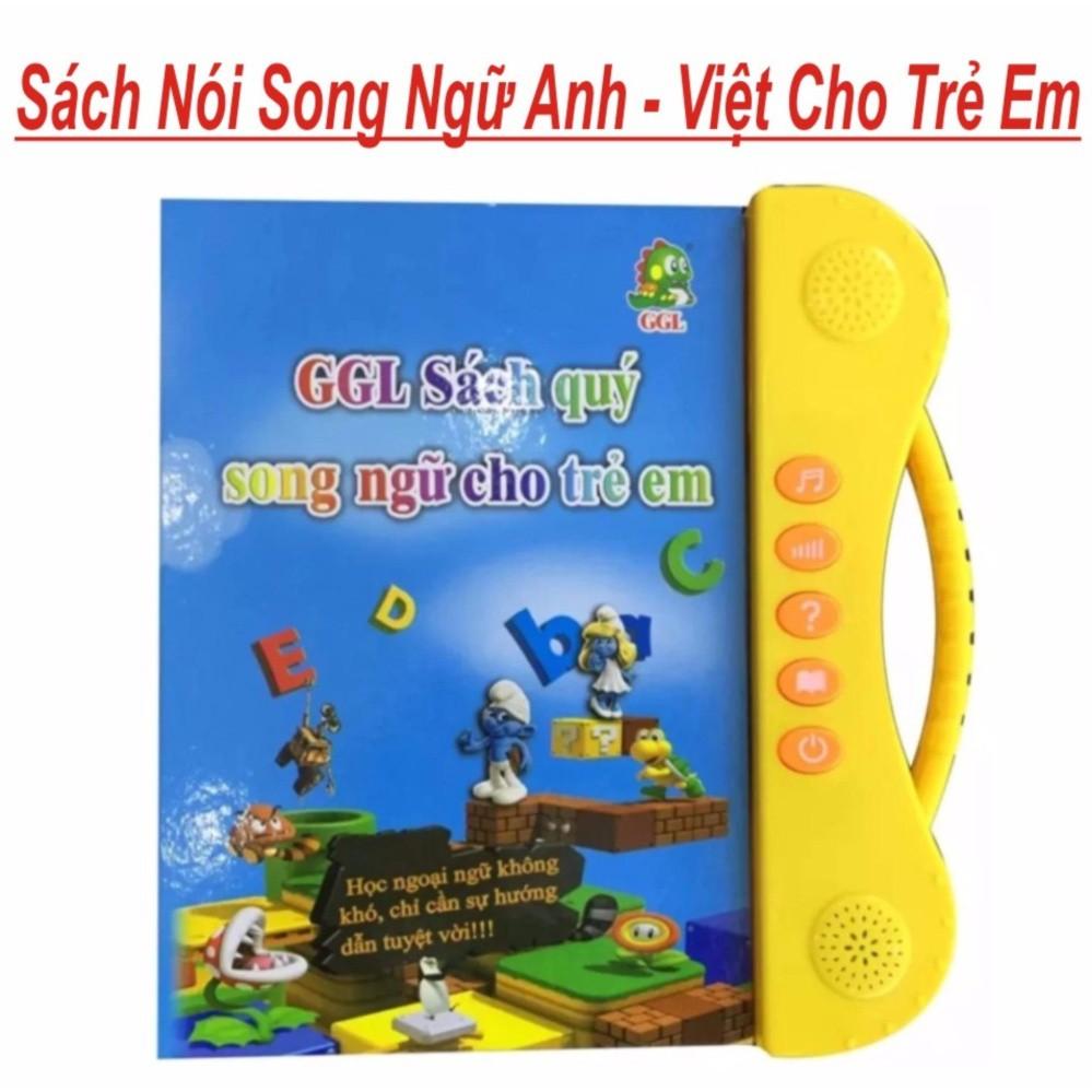 [Nhập mã TOYMAY15 giảm 15K] Sách song ngữ Việt – Anh cảm ứng giúp cho bé phát triển sớm khả năng ngoại ngữ