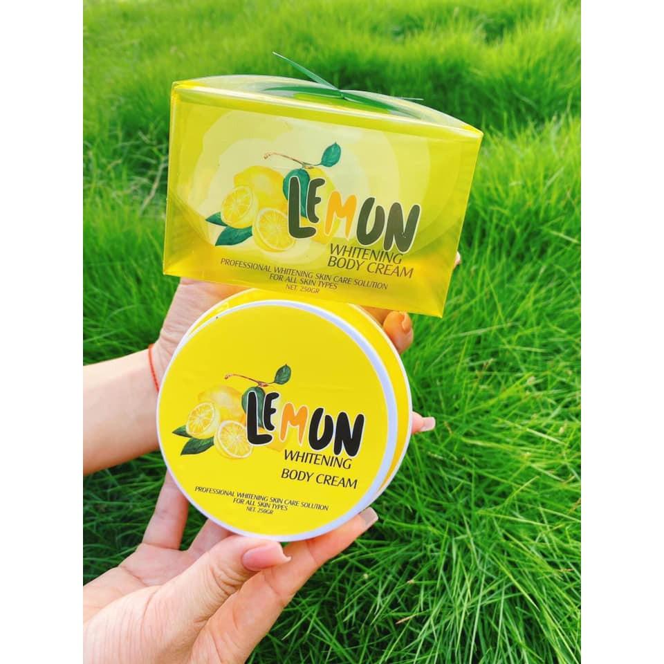 Kem body chanh lemon TQ group