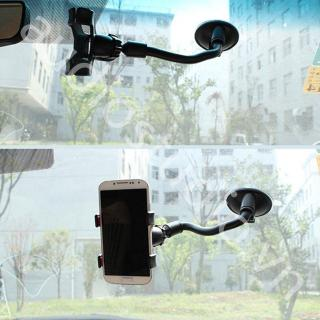Car Phone Holder 360 Rotates Windshield Dashboard Mount Suction Stand Bracket