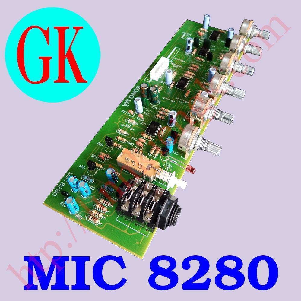 Bo Mic 8280 Song Mã - Bo mic amply