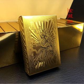 Bài Tây nhựa Rồng vàng ánh kim