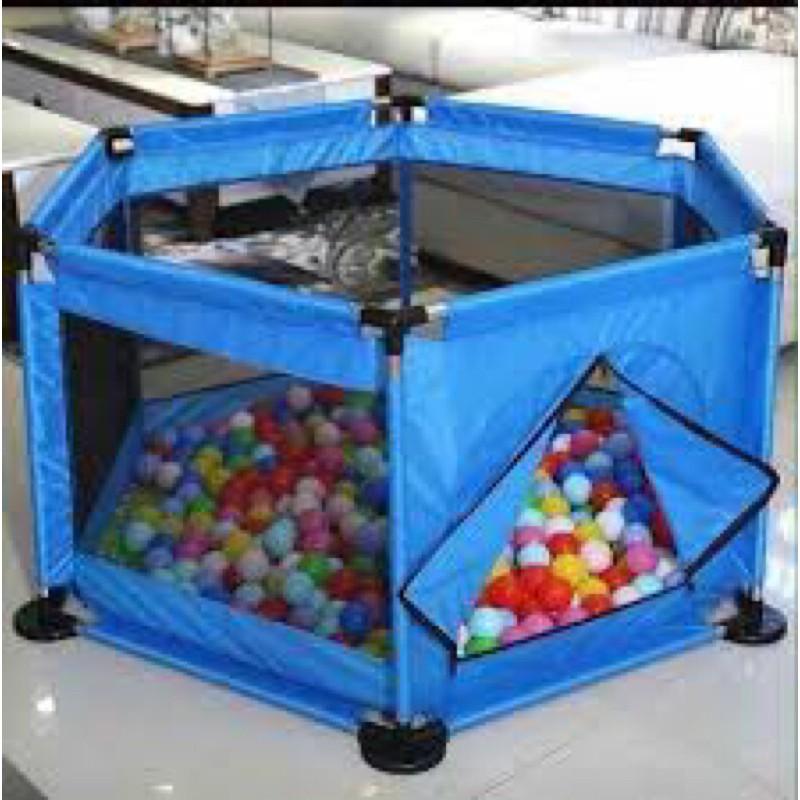 Quây bóng lục giác tặng kèm 10 bóng