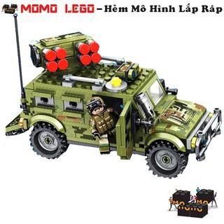 Đồ chơi mô hình lắp ráp lego – Xe Jeed Bọc Thép Quân Sự