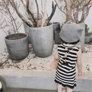 váy 3 lỗ xuất khẩu dáng tây cực xinh cho bé 9-20kg