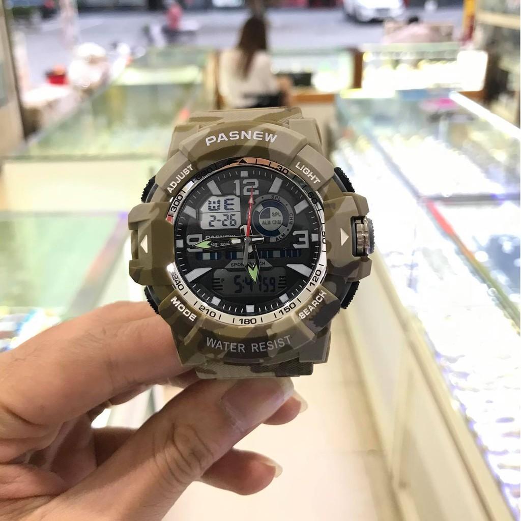 Đồng hồ nam nữ Pasnew P104 Jpan chống nước, bơi lội tuyệt đối