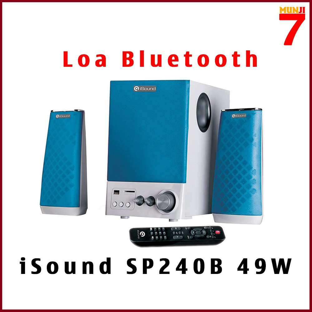 Loa Bluetooth - Vi Tính 2.1 ISOUND SP240B