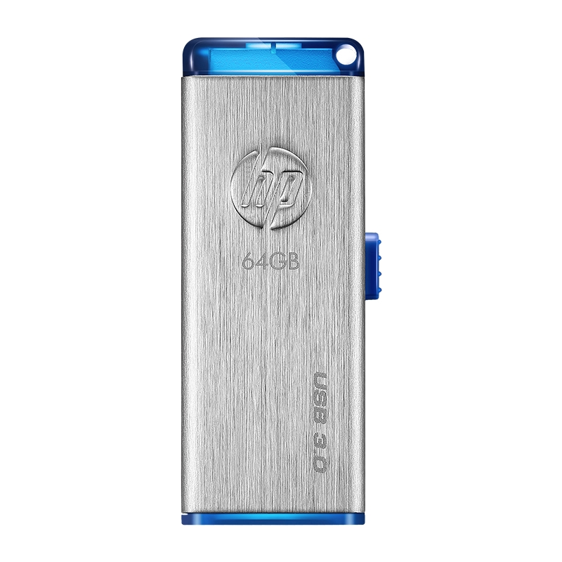 ☈✲HP/HP USB Disk 64g Metal 64Gu USB3.0 high-speed transmission personalized business Student Flash drive flagship store