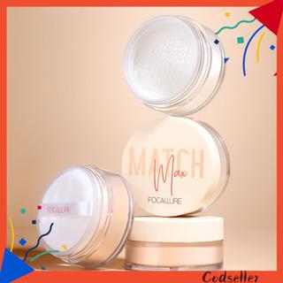 CODseller Waterproof Lasting Oil Control Loose Powder Setting Makeup Cosmetic Concealer