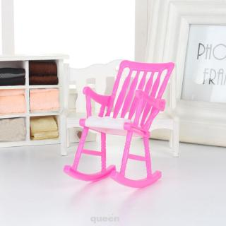 Furniture Play Plastic Gift Girls Toy Decoration Dollhouse Accessories Doll Chair