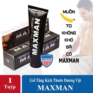 Gel MAXMAN -Tăng kích thước và kéo dài thời gian áo mưa thumbnail