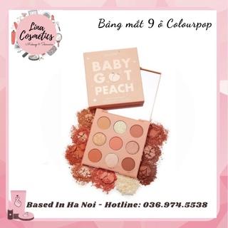 Bảng Phấn Mắt 9 Ô Colourpop Ornate - Baby Got Peach - Blush Crush - Going Coconuts thumbnail