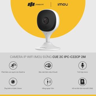 Camera giám sát  Imou IP WIFI đứng Cue 2C IPC-C22CP 2M, 2Y WTY_IPC-C22CP - Hàng Chính Hãng