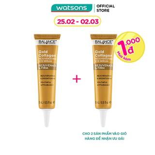 Kem Vàng Giảm Thâm Mắt Balance Active Formula Gold Collagen Rejuvenating Eye Serum 15ml thumbnail