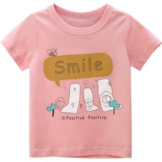 Áo thun bé gái 27HOME áo thun cho bé in hình đáng yêu