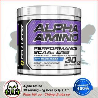 [FreeShip] Chống Dị Hóa Cơ Bắp Amino Axit Cellucor Alpha Amino 30 lần dùng. thumbnail
