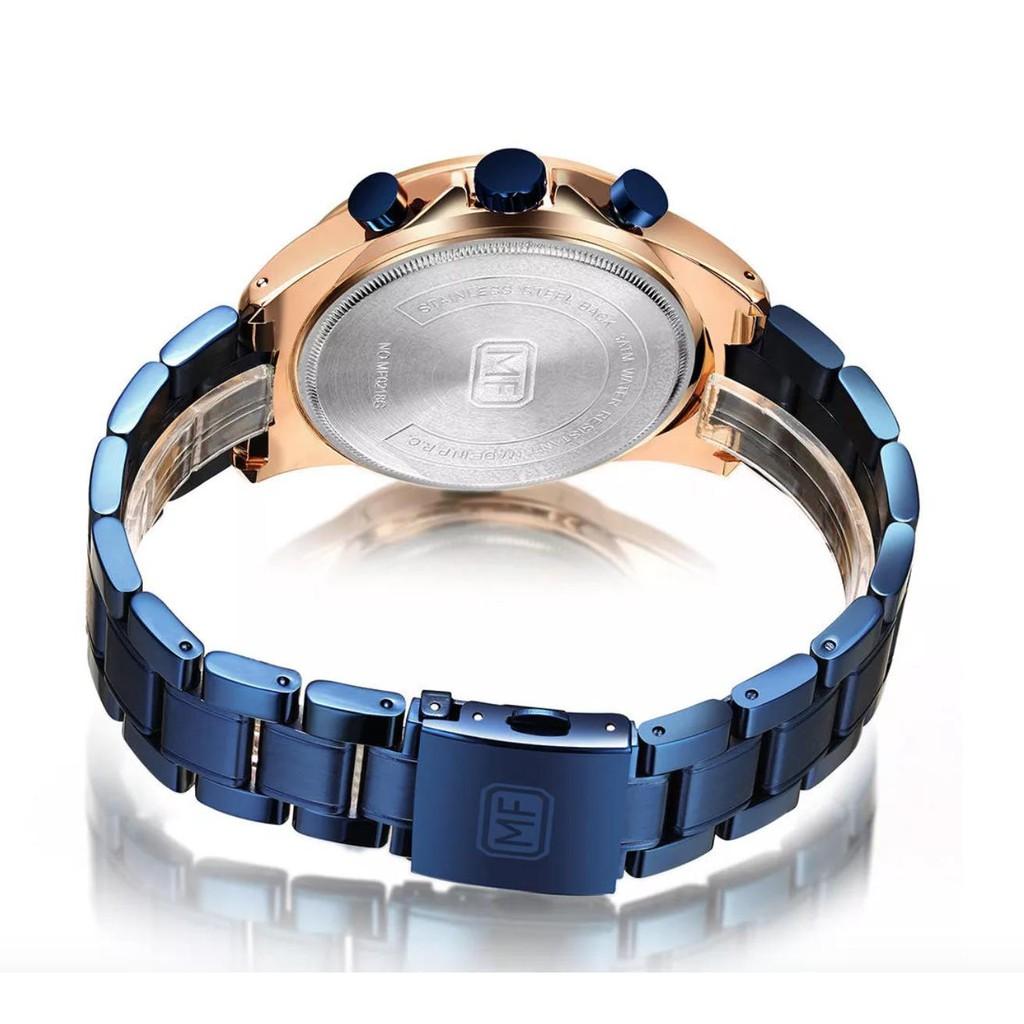 [Tặng vòng tay] Đồng hồ nam Mini Focus MF0218G Fullbox chính hãng dây đeo hợp kim khô