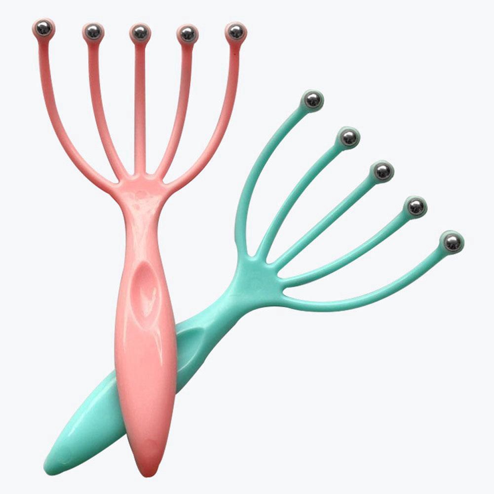 Dụng cụ mát xa da đầu giảm stress C0P9