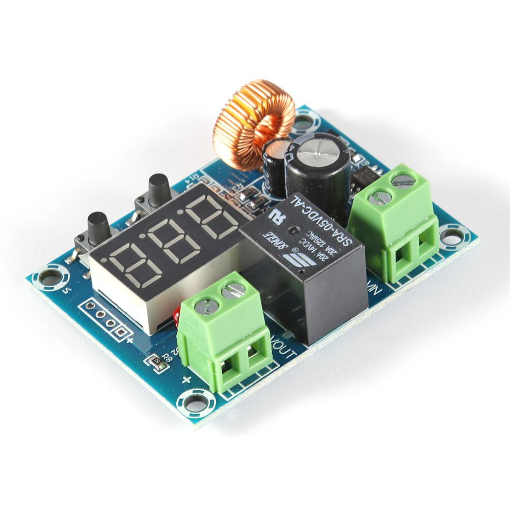 [OTICLE] DC6-60V Battery Low Voltage Disconnect Protection Undervoltage Module DC Output Board