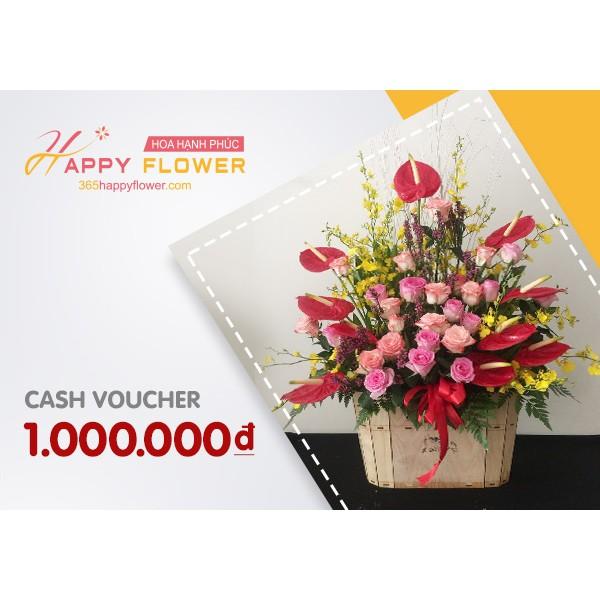 Toàn Quốc [E-Voucher] Phiếu quà tặng Happy Flower 1000k