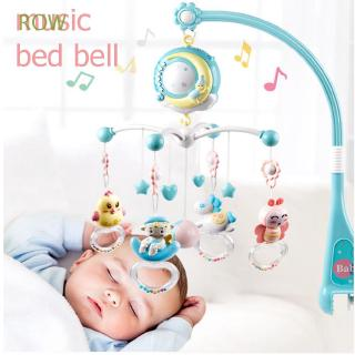 ROW Newborns Infant Babies Appease Toys Carousel Baby Crib Rattles Toys
