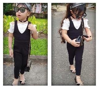 Bộ Jum bé gái kèm áo trắng trong cho bé 10-30kg hàng thiết kế thumbnail