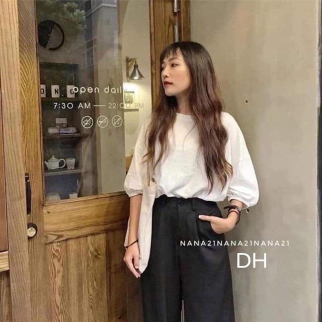 Áo tay bồng DHV466