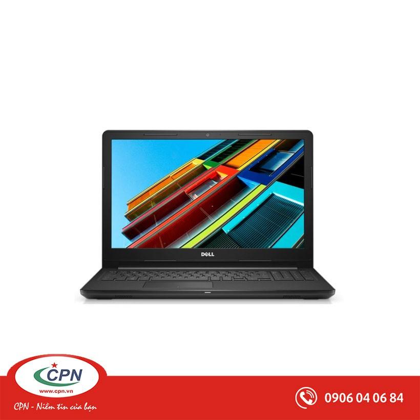 """Laptop Dell Inspiron N3567U-P63F002-TI34100 Intel Core i3-7020U/4GB+1 Slot/1000GB/DVDRW/15.6"""" FHD/Wifi/BT/Black"""