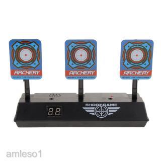 Electronic Digital Target w/ Light Sound Effect Auto Reset Scoring Target