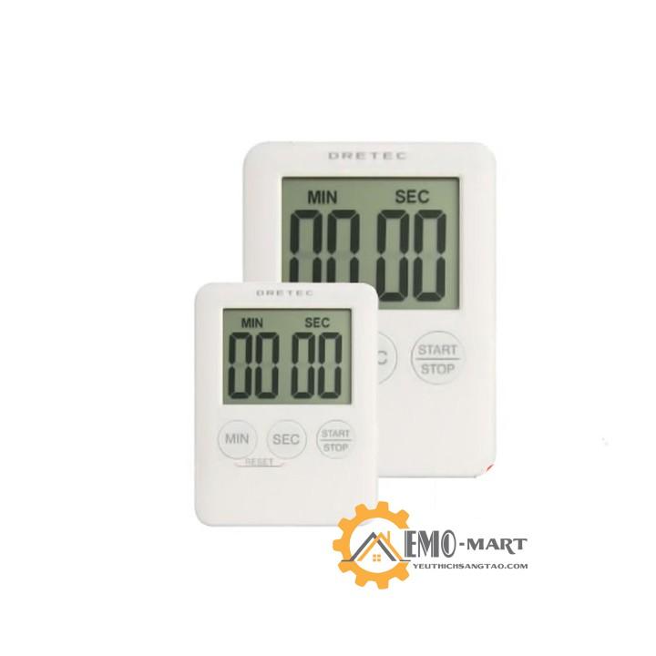 [ BH 12 THÁNG ] 💥 Đồng hồ bấm giờ đếm ngược mini v2 💥 Màn hình LCD sắc nét - Chính xác đến từng giây
